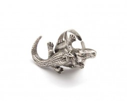 croco ring-low