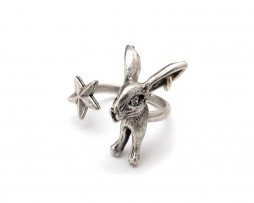 rabbit star ring-low