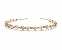 small crystal headband